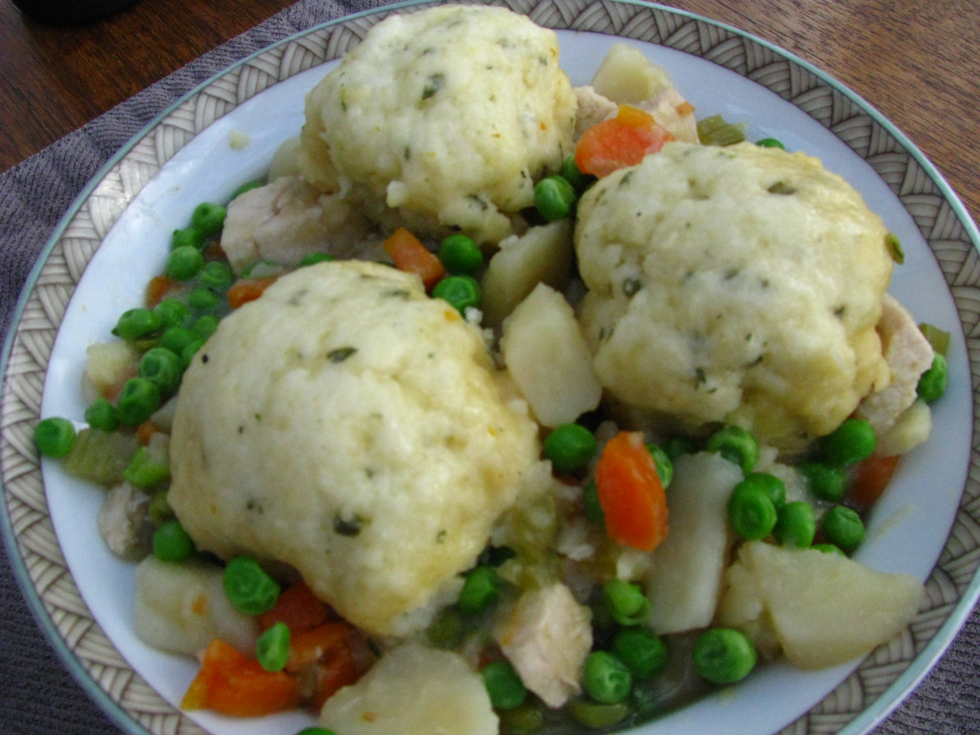 Top comfort food chicken and dumplings recipe favorites made chicken and vegetables top recipe makeover forumfinder Gallery