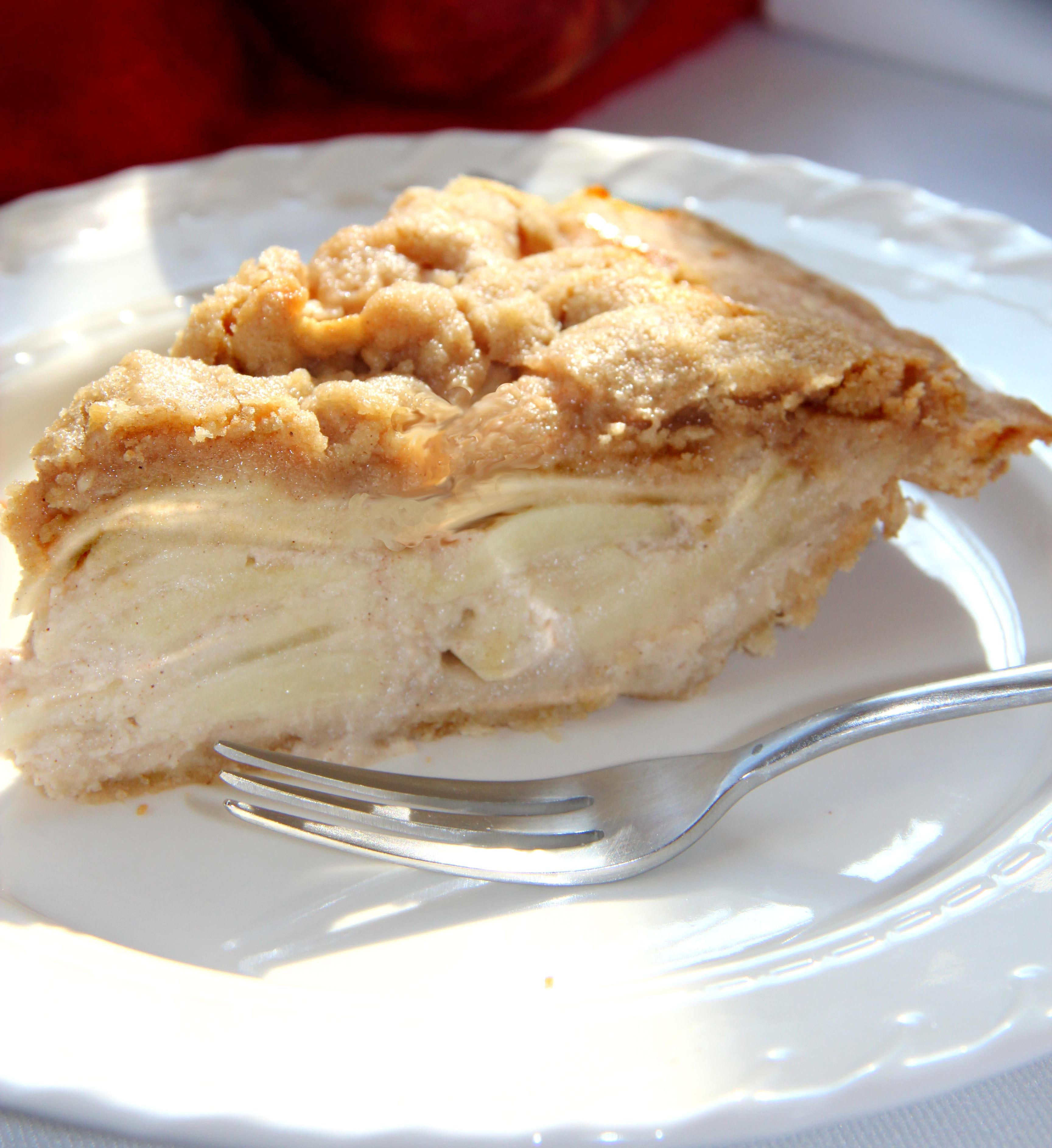 Gluten Free Apple Custard Pie | recipe favorites made deliciously ...