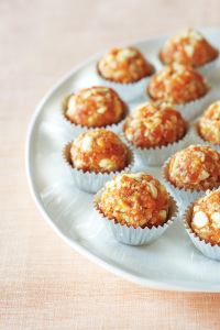 White Chocolate Apricot and Almond Balls