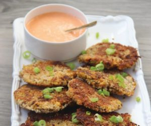 chickpea quinoa patties